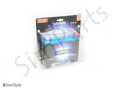 batería Shido LTX20HL-BS Lithium Ion