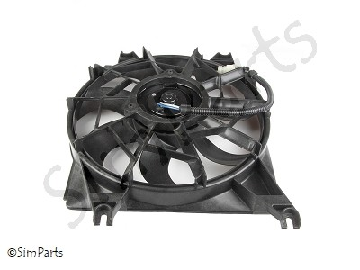 fan cooling, left side