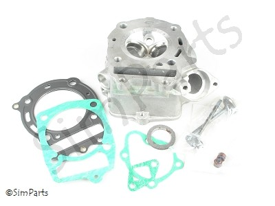 cylinder head + accessories (see photo)